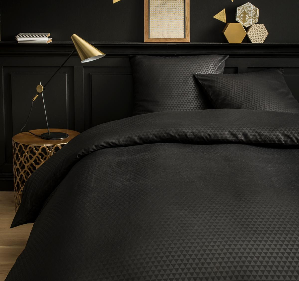 Housse de couette black trius j k markets for Housse de couette dimension