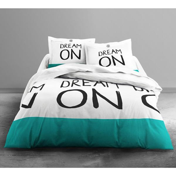 housse de couette dream on color j k markets. Black Bedroom Furniture Sets. Home Design Ideas