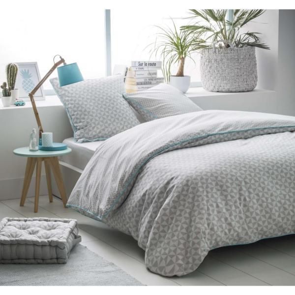 housse de couette cubik j k markets. Black Bedroom Furniture Sets. Home Design Ideas