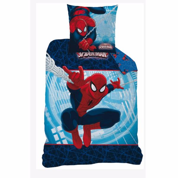 housse de couette spiderman action j k markets. Black Bedroom Furniture Sets. Home Design Ideas