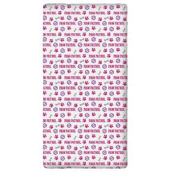 parure housse de couette pat patrouille fille empreinte rose et violet 100 coton j k markets. Black Bedroom Furniture Sets. Home Design Ideas