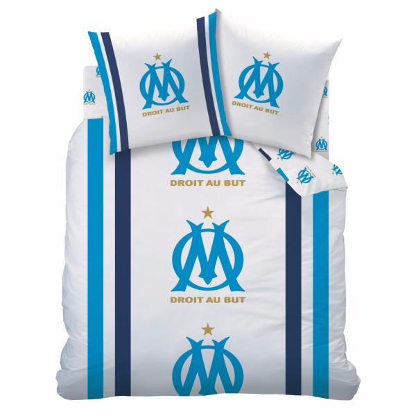 Housse De Couette Om Droit Au But Olympique De Marseille Jk Markets