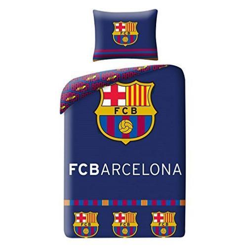 lenzuolo 90x200cm FCB192055 Fitted Sheet s/ábana Ajustable FC Barcelona Spannleintuch Drap housse