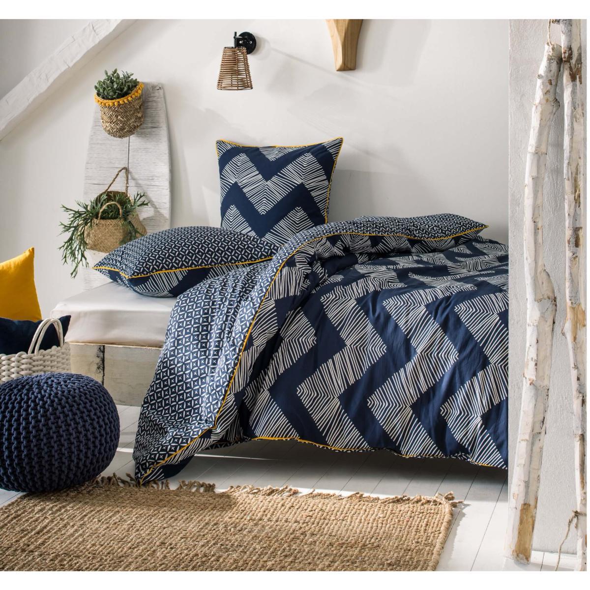 parure housse de couette belize style ethnique goa r versible 100 coton 57 fis j k markets. Black Bedroom Furniture Sets. Home Design Ideas