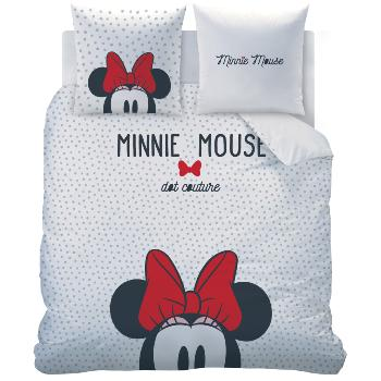 Housse de couette Minnie Rocks the Dots, 220x240cm, 2 personnes, 100% Coton