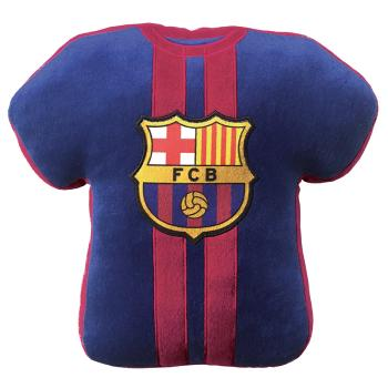 Coussin 3D, FC Barcelone, Forme Maillot, brodé FCB