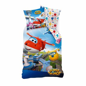 Housse de couette Superwings 140x200cm