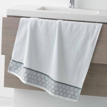 tapis de sortie de bain ou de douche 50x85cm blanc gamme ad lie 100 coton j k markets. Black Bedroom Furniture Sets. Home Design Ideas