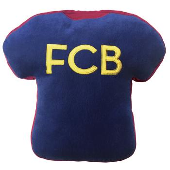 Coussin 3D FC Barcelone forme Maillot brodé FCB