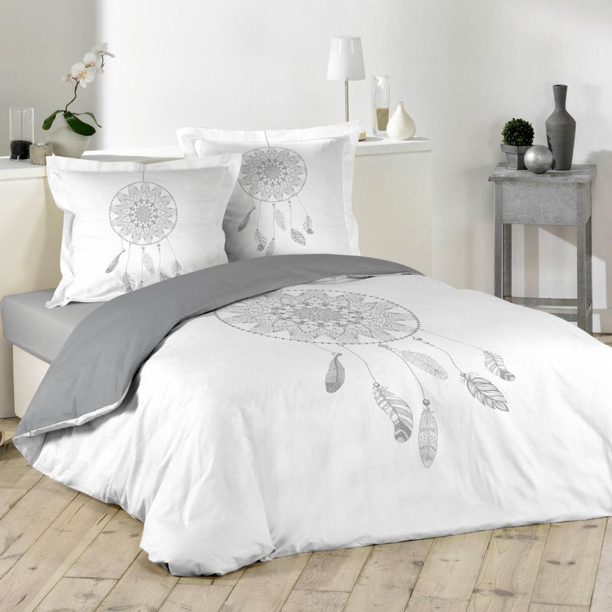 parure housse de couette reveline attrape r ve j k markets. Black Bedroom Furniture Sets. Home Design Ideas
