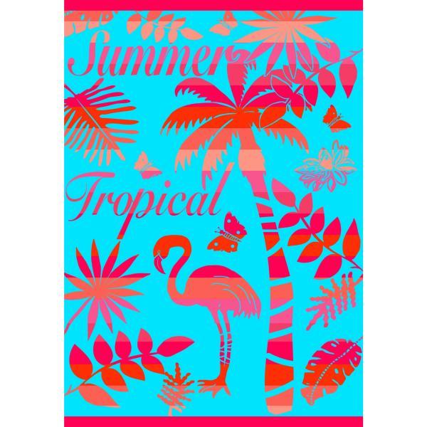 grande serviette de plage drap de plage xxl tropical. Black Bedroom Furniture Sets. Home Design Ideas