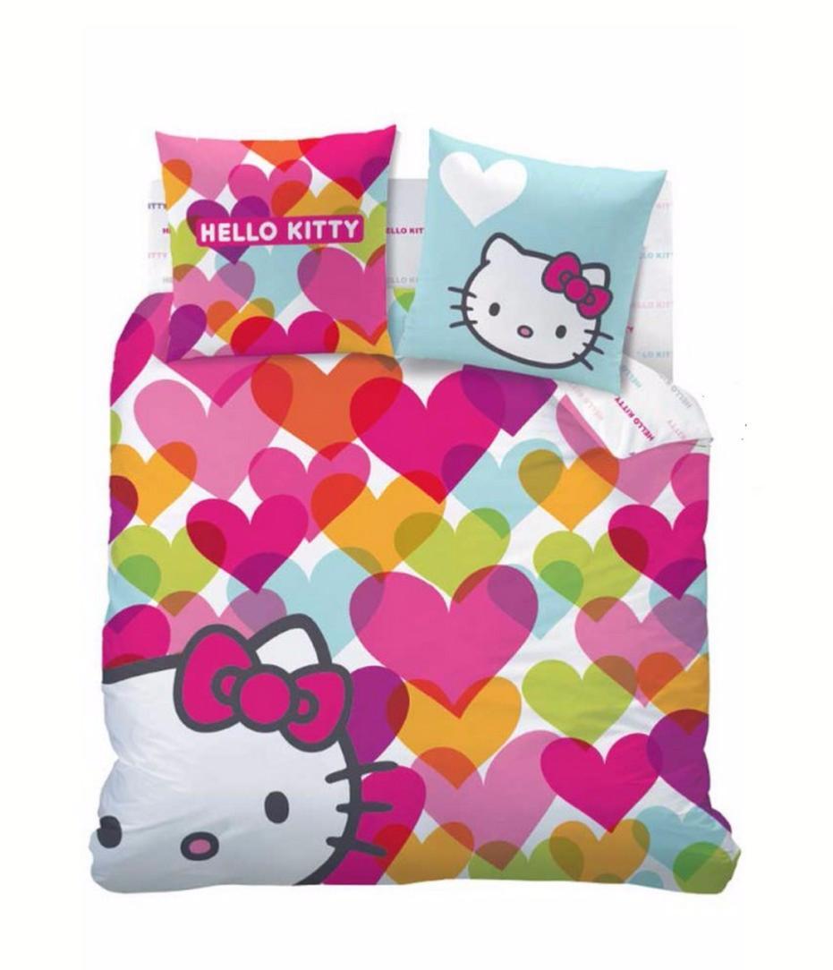 Housse de couette hello kitty mimi love j k markets - Hello kitty housse de couette ...