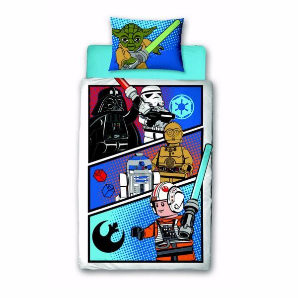 Housse de couette star wars lego j k markets - Housse de couette star wars 2 personnes ...
