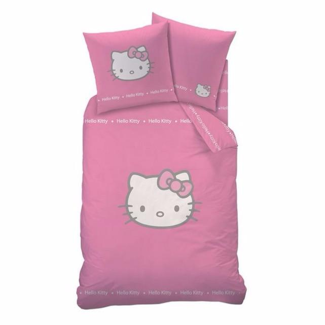 Housse de couette hello kitty betty pink j k markets - Housse de couette hello kitty personne ...
