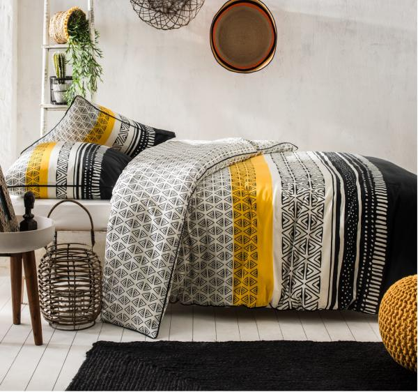 housse de couette aman style ethnique j k markets. Black Bedroom Furniture Sets. Home Design Ideas