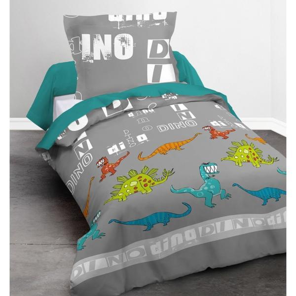 housse de couette dino j k markets. Black Bedroom Furniture Sets. Home Design Ideas