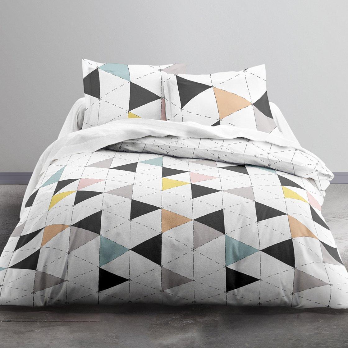 housse de couette nordik couleur pastel j k markets. Black Bedroom Furniture Sets. Home Design Ideas